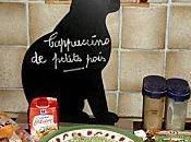 mange quoi demain Cappuccino petits pois l'esprit lard fumé