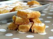 recette carrés citrons