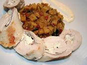 Roulade poulet jambon boursin poivre- pom'zotto bollywood
