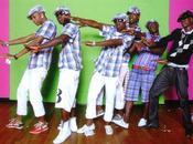 Russie danseurs jamaïcains