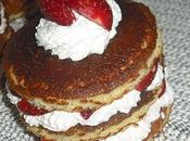Pancakes fraises