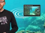 Seaview invente corail cliquable