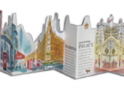Livre guide pop-up panoramique