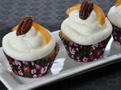 Cupcakes érable oranges confites