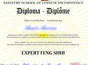 Remise diplômes Mastery School Chinese Metaphysics