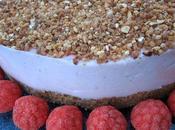Cheesecake marshmallows roses, aromatisés fraise tagada