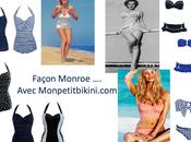 Retour shoppe maillots Marilyn Monroe Petit Bikini