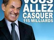 Sarkothon milliards demandés français