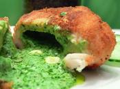 Poulet kiev roquefort Chicken Kiev with Roquefort cheese