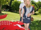 Diane Kruger Joshua Jackson posent pour Lacoste Live