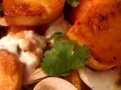 recette Express Salade gourmande quenelles poêlées