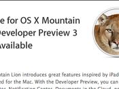 Mountain Lion DP3, 10.7.4 Xcode jour