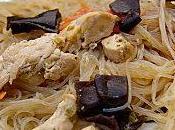 Vermicelles soja poulet