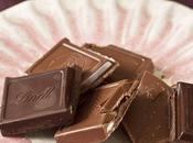 Chocolat fourré Lindt: repos mérité...