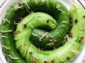 Salade concombre 蓑衣黄瓜 huáng