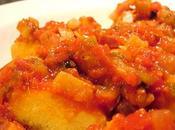 Quenelles polenta sauce (mijoteuse)