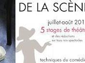 stages théâtre Lucernaire....