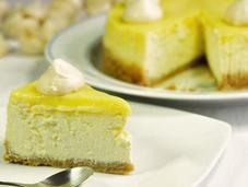 Cheesecake citron meringué, sans gluten