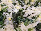 Salade express pâtes, fanes herbes