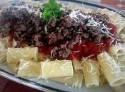 Rigatoni sauce basilic viande hachée partenariat