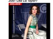 première photo Lindsay Lohan Elizabeth Taylor qu'en dit-on