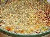 Gratin courgettes thon