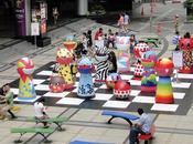 Bangkok, Echiquier géant CHESS revisité