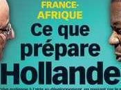 France Afrique prépare François Hollande