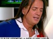 Francis Lalanne chante pour Laurent Blanc plateau d'i>télé Président