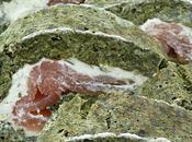 Roulé épinards, saumon Boursin