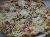 """Plat: Pizzas Individuelles Chèvre """"Lardons"""" Merguez Chorizo Poivrons"""