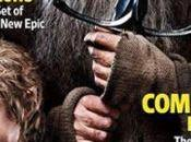 Hobbit couverture d'Entertainment Weekly