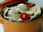 Ravioli poulet cheddar tomates séchées
