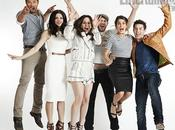 Photoshoots d'Entertainment Weekly Comic