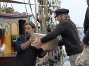 Brest 2012 transport voile Chargement Vins naturels vers Copenhague