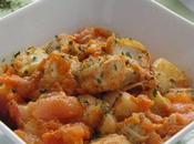 Blancs Poulet Chutney Pêche Abricot