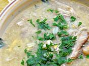 Chorba beida -Soupe algéroise poulet