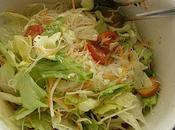 fraîcheur avec salade saveur asiatique sauce!