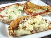 Recette pita-pizzas