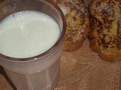 boisson lactée fruits pain perdu !!!!