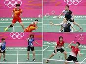 2012 Exclues pour combativité Badminton