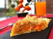 Tarte-crumble abricots
