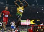 Usain Bolt finit record, Farah signe doublé