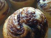 petit gâteau grand Coeur! Muffin Stracciatella coeur Nutella.