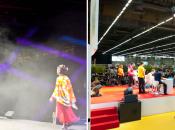 Prestataire technique événémentiel Japan Expo 2012 mise lumière groupe Novelty