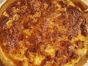 Quiche roquefort/poire/jambon
