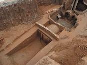 Découverte tombeau d'un guerrier période trois royaumes