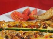 Barquettes zucchini mexicaine