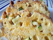 Cake poulet, mimolette courgette