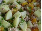 Salade pommes terre froides façon pêche thon